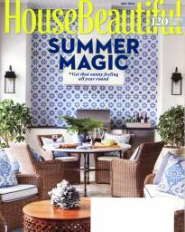 House Beautiful May 2016 Cover